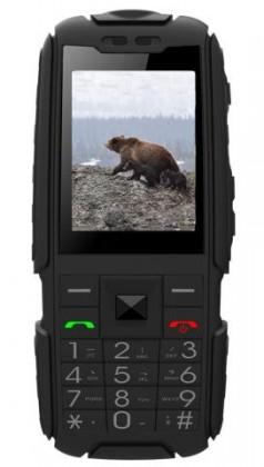 Odolný telefón Aligator R20 eXtremo, čierna
