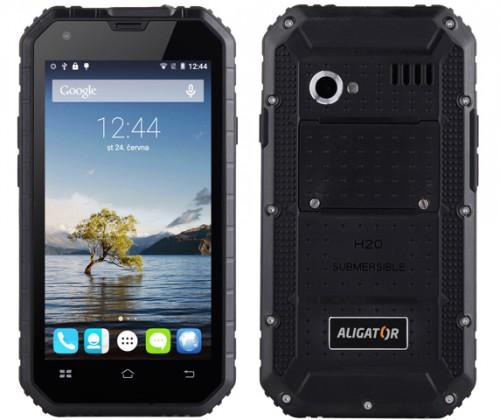 Odolný telefón Aligator RX450 eXtremo, čierny