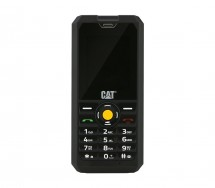 Odolný telefón Caterpillar CAT B30, čierna
