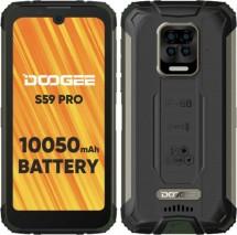 Odolný telefón Doogee S59 PRO 4 GB/128 GB, zelený