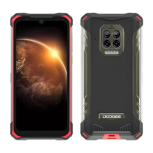 Odolný telefón Doogee S86 6 GB/128 GB, červený