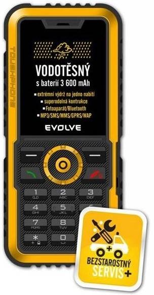 Odolný telefón  EVOLVEO Gladiator RG300