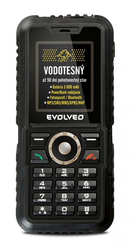 Odolný telefón EVOLVEO StrongPhone Accu ROZBALENO