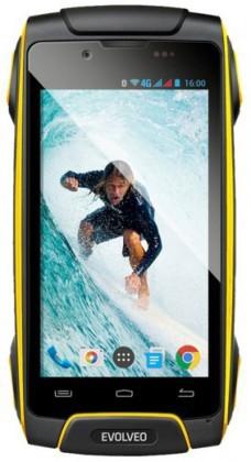 Odolný telefón Evolveo StrongPhone Q8 LTE, žltá