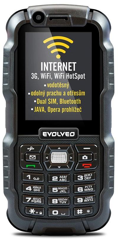 Odolný telefón EVOLVEO StrongPhone WiFi