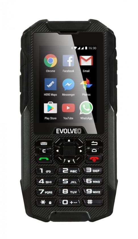 Odolný telefón EVOLVEO StrongPhone X4 ROZBALENÉ