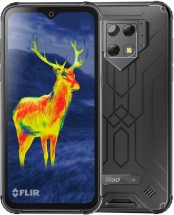 Odolný telefón iGET Blackview GBV9800 Pro Thermo 6/128GB, strieb