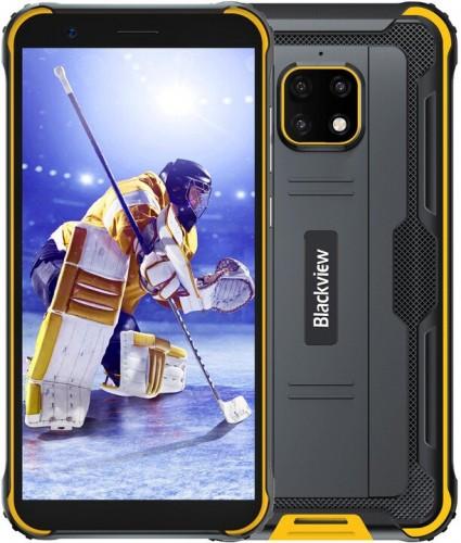 Odolný telefón iGET GBV4900 Pro 4GB/64GB, žltá