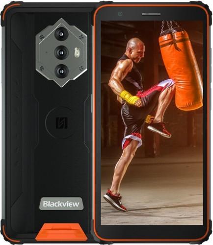 Odolný telefón iGet GBV6600 4 GB/64 GB, oranžový