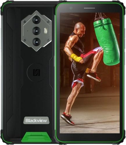 Odolný telefón iGet GBV6600 4 GB/64 GB, zelený