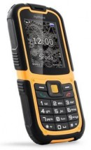 Odolný telefón MyPhone Hammer 2, čierna/oranžová