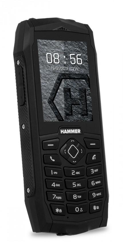Odolný telefón MYPHONE HAMMER 3 PLUS ČIERNY , ZÁNOVNÉ, neopotřebené TOVAR