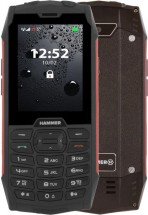 Odolný telefón myPhone Hammer 4, červená + Antivir ESET