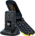 Odolný telefón MyPhone Hammer BOW PLUS, čierna/oranžová, ZÁNOVNÉ