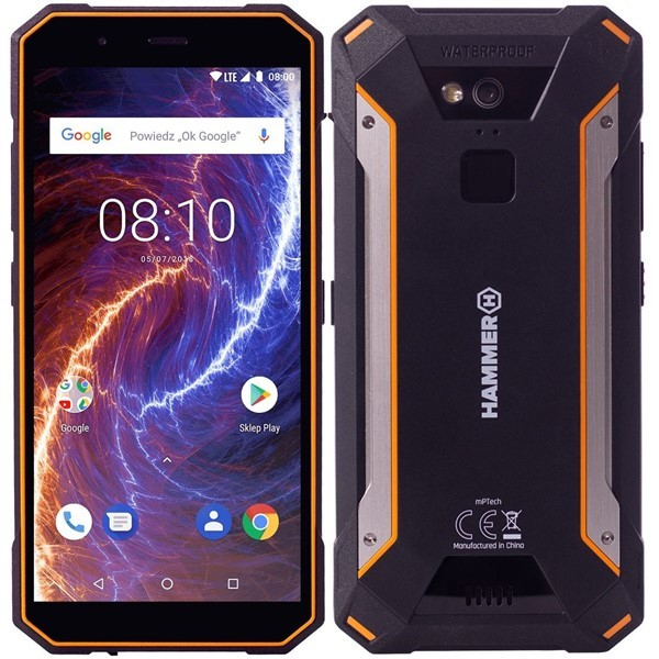 Odolný telefón myPhone Hammer Energy 18x9 LTE oranžovo-černý