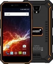 Odolný telefón myPhone Hammer ENERGY 2GB/16GB, čierna/oranžová + Powerbank Swissten 6000mAh
