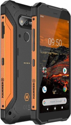 Odolný telefón myPhone Hammer Explorer 3GB/32GB, oranžová
