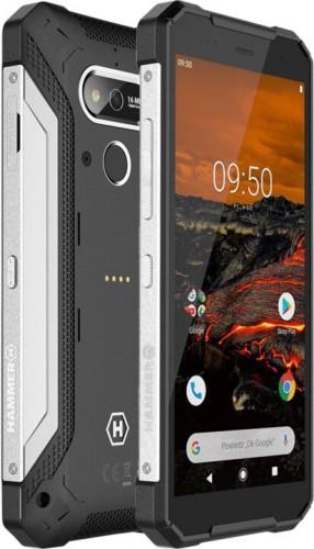 Odolný telefón myPhone Hammer Explorer 3GB/32GB, strieborná + DÁREK Antivir Bitdefender pro Android v hodnotě 299 Kč