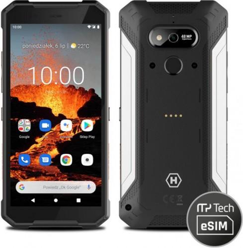 Odolný telefón myPhone Hammer Explorer Pro 6GB/128GB, strieborný