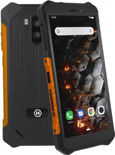 Odolný telefón myPhone Hammer Iron 3 LTE 3GB/32GB, oranžová