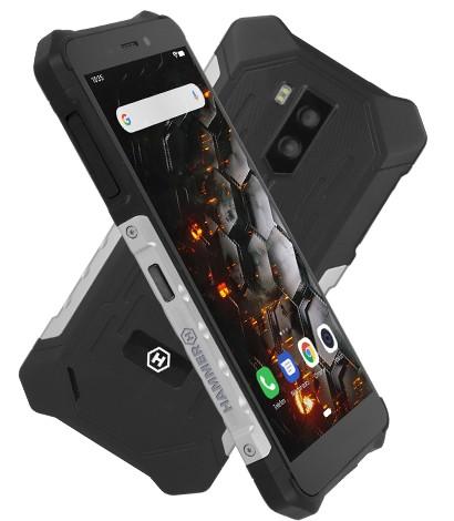 Odolný telefón myPhone Hammer Iron 3 LTE 3GB/32GB, strieborná