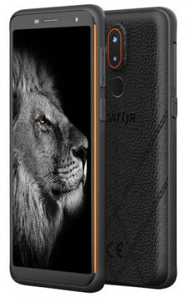 Odolný telefón Odolný mobilný telefón Aligator RX800 eXtremo 4GB/64GB, oranžová
