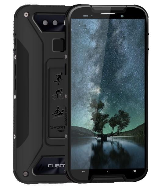 Odolný telefón Odolný telefón Cubot Quest Lite 3GB/32GB, čierna