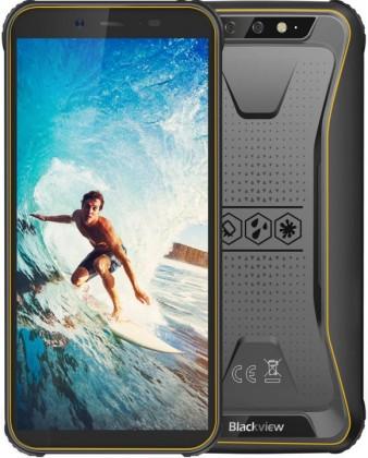 Odolný telefón Odolný telefón iGET Blackview GBV5500 2GB/16GB, žltá