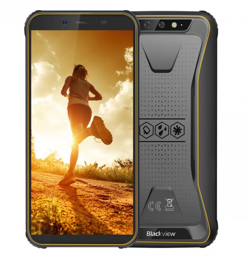 Odolný telefón Odolný telefón iGET Blackview GBV5500 Plus 3GB/32GB, žltá