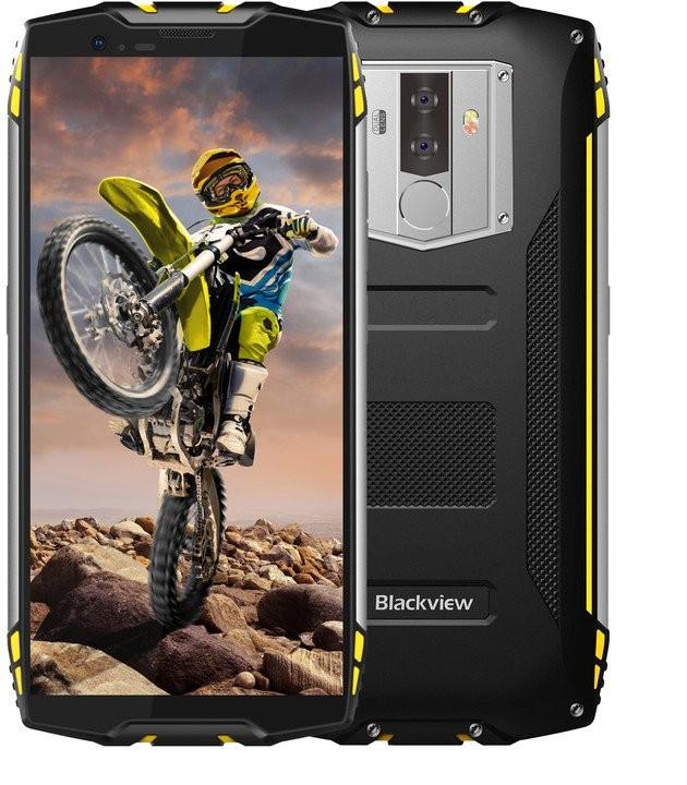 Odolný telefón Odolný telefón iGET Blackview GBV6800 PRO 4GB/64GB, žltá