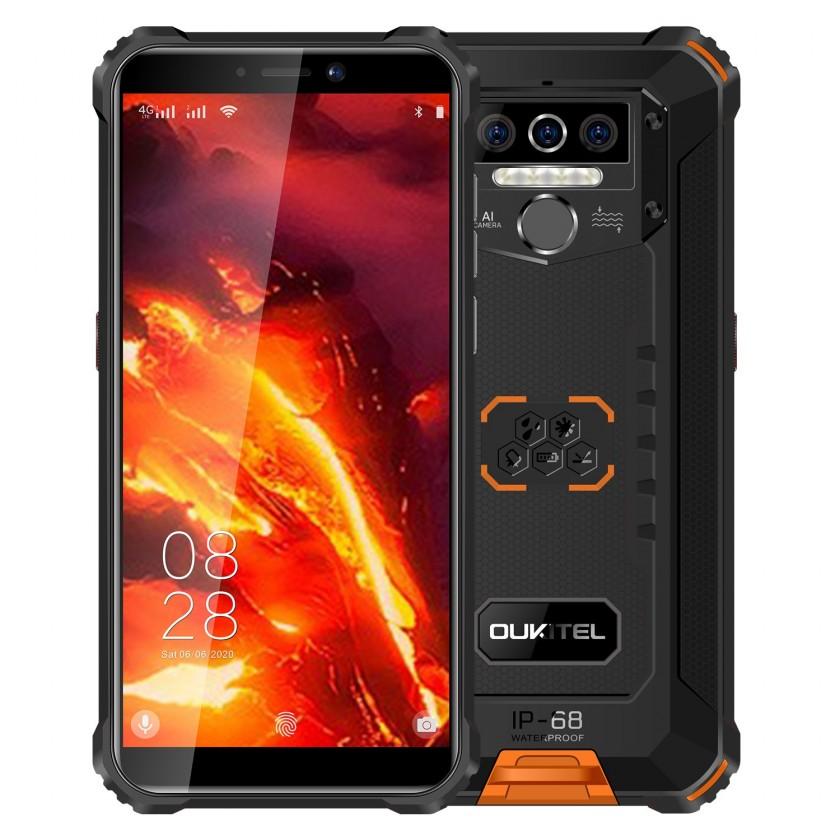 Odolný telefón Odolný telefón Oukitel WP5 Pro 4GB/64GB, oranžová