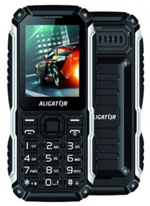 Odolný telefón Odolný tlačidlový telefón Aligator R30 eXtremo, IP68, čierna