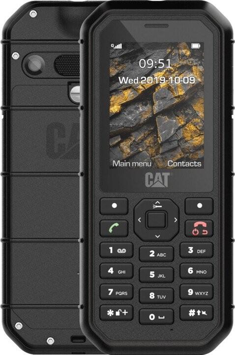 Odolný telefón Odolný tlačidlový telefón Caterpillar CAT B26, čierna