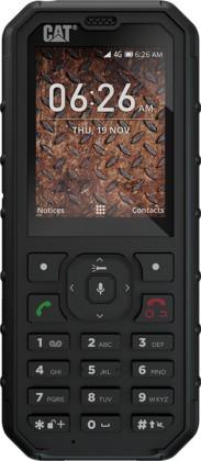 Odolný telefón Odolný tlačidlový telefón Caterpillar CAT B35, čierna