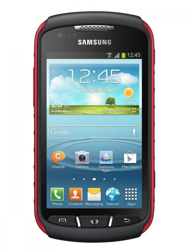 Odolný telefón Samsung Galaxy Xcover 2 (S7710), čierny-červený
