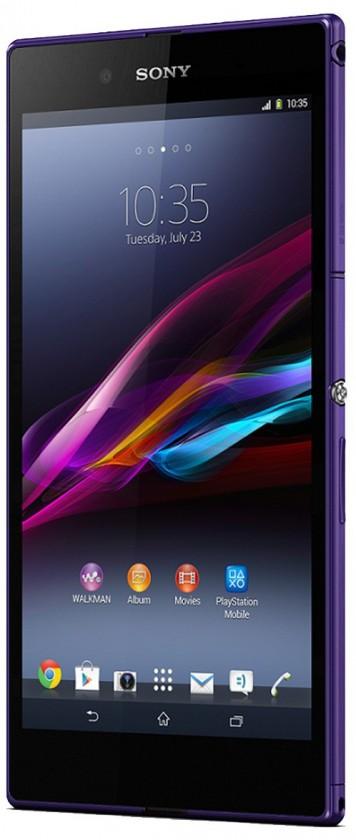 Odolný telefón  SonyXperia Z fialový