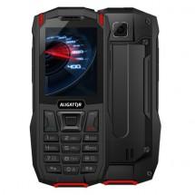 Odolný tlačidlový telefón Aligator K50 eXtremo, KaiOS, červená