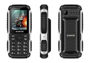 Odolný tlačidlový telefón Aligator R30 eXtremo, IP68, čierna