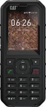 Odolný tlačidlový telefón Caterpillar CAT B35, čierna