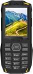 Odolný tlačidlový telefón iGET Blackview GBV1000, žltá