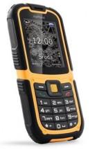 Odolný tlačidlový telefón myPhone Hammer 2, čierna/oranžová