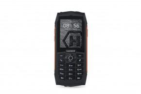 Odolný tlačidlový telefón myPhone Hammer 3, oranžová