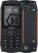 Odolný tlačidlový telefón myPhone Hammer 3 PLUS, oranžová