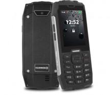 Odolný tlačidlový telefón myPhone Hammer 4, strieborná POUŽITÉ, N
