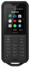 Odolný tlačidlový telefón Nokia 800 4G DS, čierna + DARČEK Antivir Bitdefender pre Android v hodnote 11,90 Eur