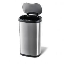 Odpadkový kôš so senzorom na triedený odpad Toro, nerez, 50 l