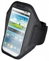 OEM športové puzdro na ruku pre Samsung Galaxy S3 / S4, čierna
