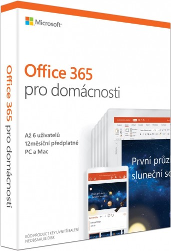 Office 365 Home CZ (6GQ-00898)