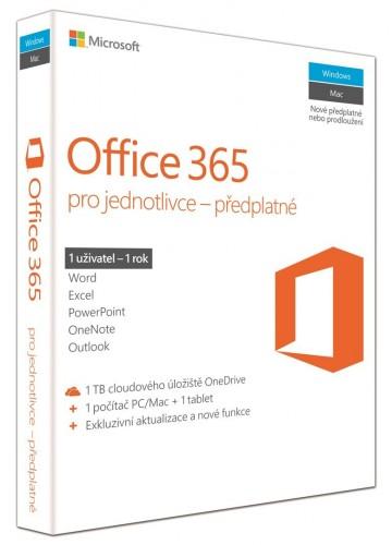 Office 365 Personal 32-bit/x64 Czech, P2