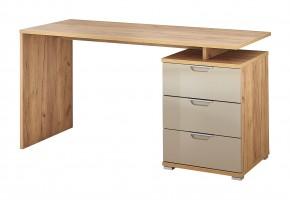 Office - Stôl (dub navarra/piesková)